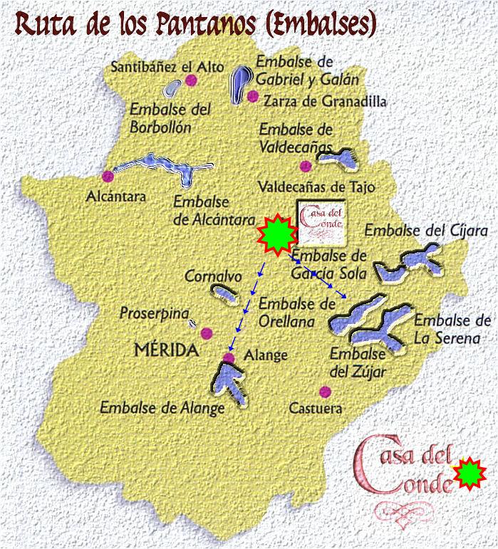 RUTAS DE LOS EMBALSES Extremadura
