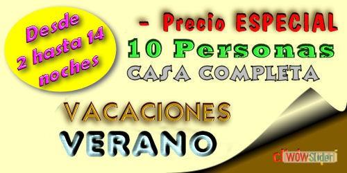 2015- Verano Casa Com 2-14 noches